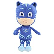 PJ Masks are on their way - into the night to save the day! This soft & cuddly version of the fast and agile, Catboy, from the hit TV series, PJ Masks, comes in the perfect size to take with you on all of your heroic night time adventures...