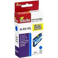 Inkrite NG Ink Cartridges (HP 951XL) for HP OfficeJet Pro 8100 8600 - CN046AE Hi-Cap CyanInkrite CN046AE NG Ink Cartridges for HP OfficeJet Pro 8100/8600 - Cyan