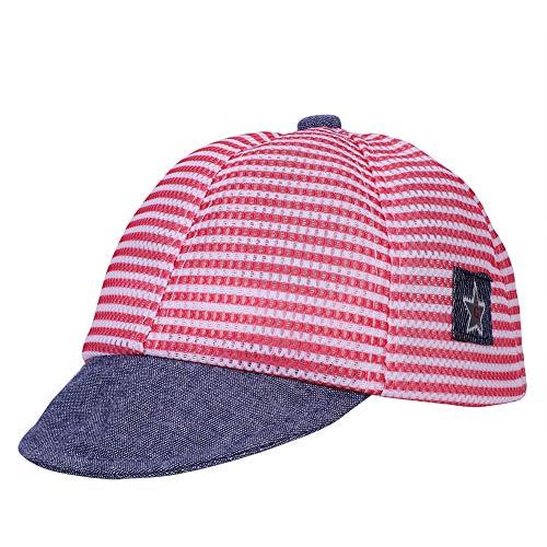 r Baseball-Kappen Jungen Mädchen Baseballcap Snapback Cap Anti-UV Hut Sonnenhut Einstellbare Sommer Mütze Mode Kleinkinderhut für Reisen Stand Outdoor ()
