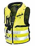 Spidi Motorrad-Safety Protection Neck DPS Tex Vest, Gelb Fluo, Größe XL