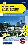 Deutschland Outdoorkarte 33 Taunus Os...