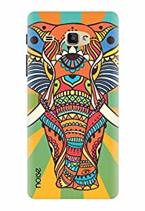 Noise Designer Printed Case / Cover for Samsung Galaxy J Max / Nature / Rainbow Murial Elephant Design
