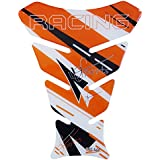 Tankpad 3D - Racing Sports analog KTM Orange / Orange - 501730 - universell für Yamaha, Honda, Ducati, Suzuki, Kawasaki, KTM, BMW, Triumph und Aprilia Tanks