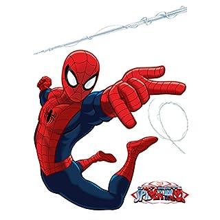 AG Design - Marvel Spider Man – Wandsticker – Wandtattoo – Wandaufkleber – Selbstklebend – bunt - 65 x 85 cm - DK 1710