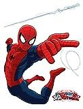 AG Design dk 1710Marvel Spider Man, Stickers muraux, 65x 85cm–1Partie, papier, multicolore, 0,1x 65x 85cm