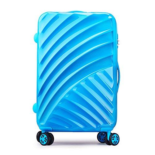 PARTYPRINCE Valigia blu blu 56x33x24cm