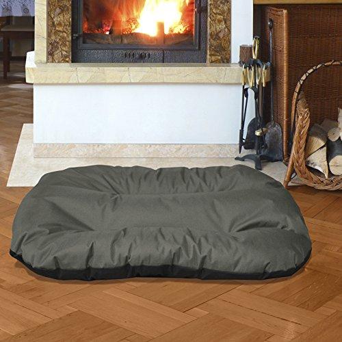 Beddog 2 in 1 letto per cane rex xxl fino a xxxl, 9 colori a scelta, cuscino per cane, divano per cane, cestino per cane, grigio/antracite xxl