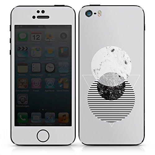 Apple iPhone SE Case Skin Sticker aus Vinyl-Folie Aufkleber Grafik Art Abstrakt DesignSkins® glänzend