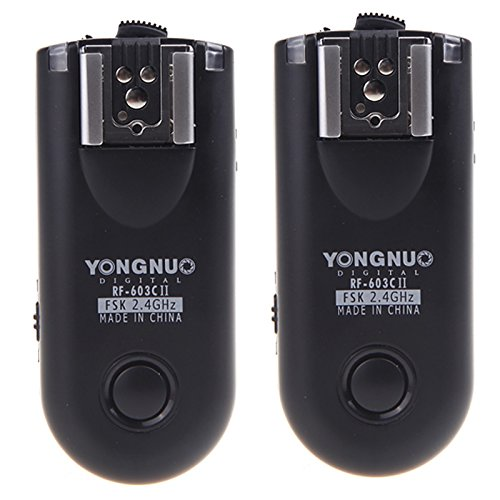 Yongnuo rf-603 C II Wireless Remote Flash Trigger C3 Für Canon 5D 1D 50D Remote-flash