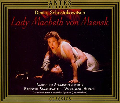 Schostakowitsch: Lady Macbeth von Mzensk (Gesamtaufnahme Live Karlsruhe Juni 1996)