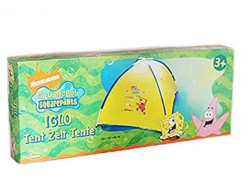 Tente Bob l'éponge Patrick pour enfant - Tente igloo de jardin jeux 120x120x80cm