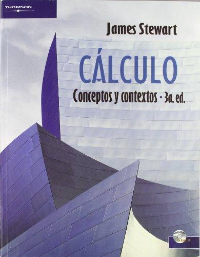 CÁLCULO. CONCEPTOS Y CONTEXTOS