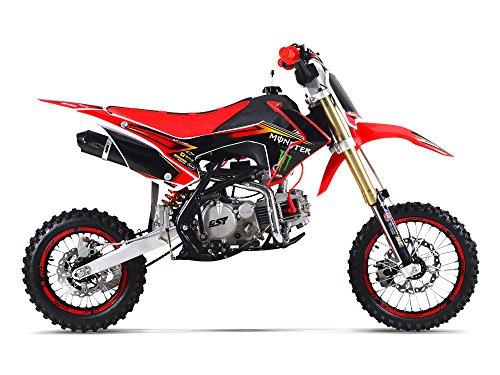 Moto-Pit-Bike-GUNSHOT-150-PRO-F-dition-MONSTER-Rouge-2016
