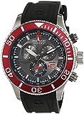 Swiss Military Hanowa - 06-4226.04.009 - Montre Homme - Quartz - Analogique - Chronomètre - Bracelet Silicone noir