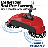 #3: Rotating Brush Spin Hand Push Broom Sweeper Dust Collector Floor Surface Cleaning Mop