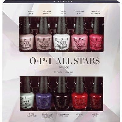 OPI All Stars Master Mini Kit 3.75 ml - Pack of 10