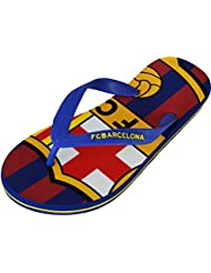 Tongs Barça - Collection officielle FC BARCELONE - Taille adulte homme