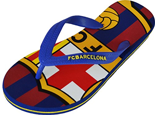 Fc Barcelone Tongs Barça - Collection Officielle Taille Enfant garçon