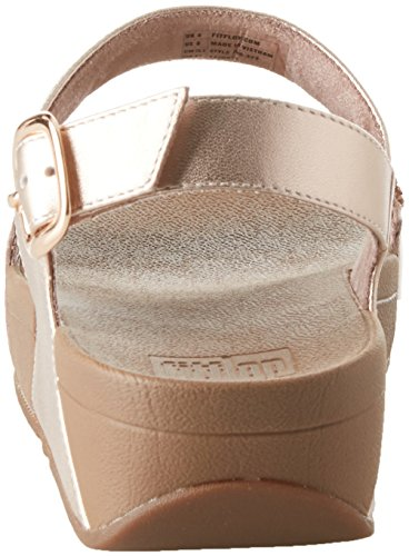 FitFlop Sparklie Roxy, Tongs Femme Rosa (Rose Gold)