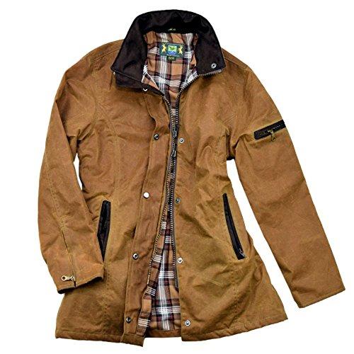 Romneys Damen-Wachsjacke New Ashdown   Farbe: Beige, XL -