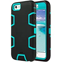 a6a4dd6af11b ULAK iPhone 6 Case, iPhone 6s Case 3in1 Shockproof Combo Hybrid Hard Rigid  PC +