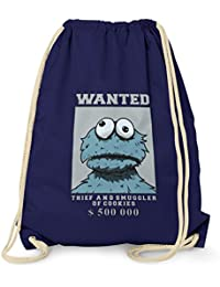 TEXLAB - Wanted Thief and Smuggler of Cookies - Turnbeutel