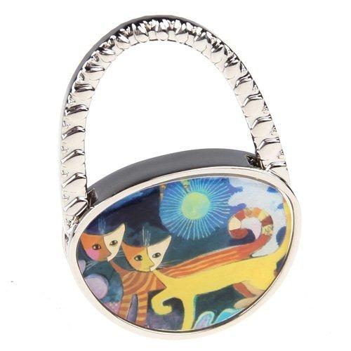 Metall Handtaschenhalter Taschenhalter Taschenhaken katze Aufhänger
