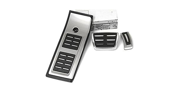 Audi 80b064205a Edelstahl Dsg Pedalkappen Fußstütze Interieur Automatikgetriebe Auto