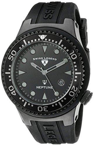 SWISS LEGEND 21848D-PHT-01 - Orologio da polso da uomo colore nero