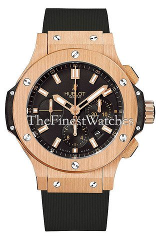 Hublot Big Bang nero quadrante 18 carati rose oro mens orologio 301.px.1180.Rx