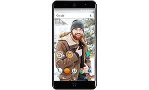 Wileyfox Swift 2 Plus - 5-Zoll-HD Display - 32GB interner Speicher + 3 GB RAM Speicher (Dual-SIM-Funktionalität 4G) SIM freies Smartphone Android Nougat 7.1.1  - Mitternachtsblau