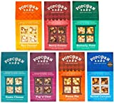 7 Popcorn Shed Selection Pack - The Perfect Popcorn Gift - Popcorn Taster Pack