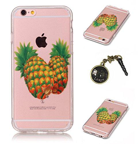 TPU Cuir Coque Strass Case Etui Coque étui de portefeuille protection Coque Case Cas Cuir Swag Pour Apple iPhone 6 (4.7 pouces)+Bouchons de poussière (7FF) 3