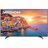 MEDION LIFE P18100 (55 Zoll UHD) LED Backlight-TV (4K, Triple Tuner, DVB-T2, CI+, HDMI) integrierter Mediaplayer, schwarz