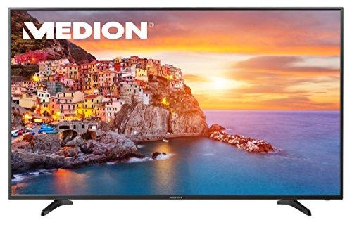 """MEDION LIFE P18088 MD 31178 165,1cm 65"""" Zoll LED-Backlight TV, UHD 4K, HD Triple Tuner DVB-T2 DVB-C DVB-S2, integrierter Mediaplayer, EEK:A, schwarz"""