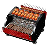 Ffshop Carrello per Barbecue Scaffale for Barbecue da Esterno for 3-5 Persone Utensile BBQ