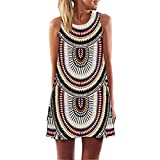 Best Summer Dresses - RAYWIND Women's A-Line Casual Dress Small Multicoloured Review