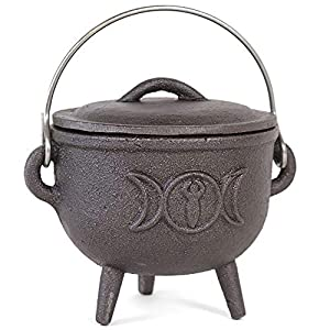15CM Cast iron cauldron with