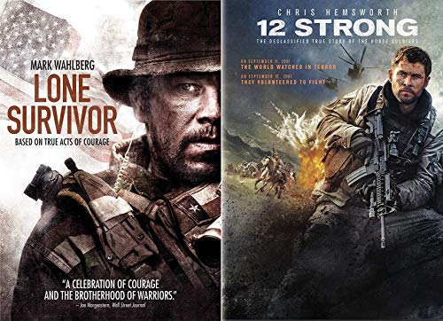 Fighting Al Qaeda + The Taliban- True Modern War Stories: Lone Survivor & 12 Strong 2-DVD Bundle - Lone Survivor Dvd