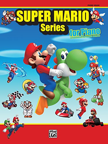 Super Mario Series for Piano: 34 Super Mario Themes From the Nintendo® Video Game Collection Arranged for Solo Piano (English Edition)