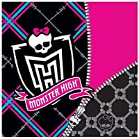 Monster High Birthday Party Napkins x 20