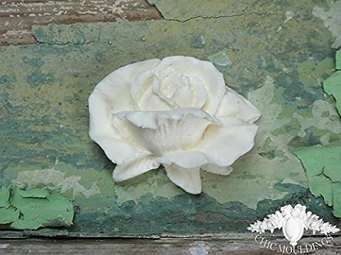 Chic Mouldings Moulure décorative style shabby chic pour meubles Roses