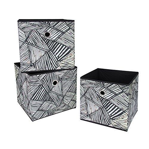 pieghevole-in-tessuto-scatole-cubi-modello-thatch-3-pack