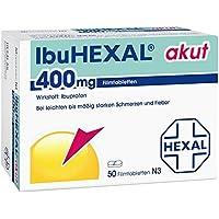 IbuHexal akut 400 mg, 50 St. Filmtabletten preisvergleich bei billige-tabletten.eu
