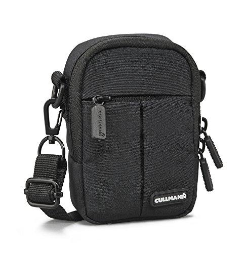 "Cullmann Malaga Kompakt ""300"" Kameratasche für Kompaktkamera, 7 x 11 x 4 cm Schwarz"