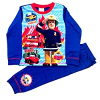 Fireman Sam Boys Official to The Rescue Pyjamas Age 1.5 to 5 Years