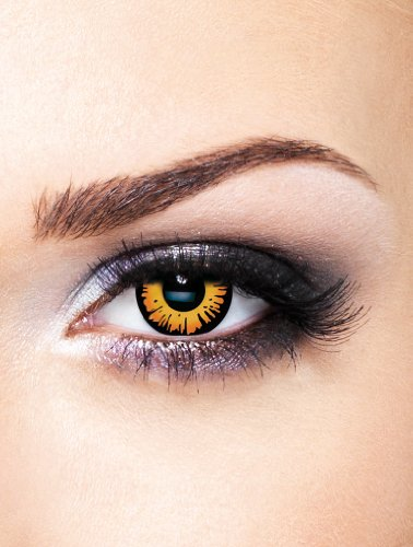 Edit farbige Twilight Bella Movie Film Kontaktlinsen ohne Stärke für Halloween und (Schwarz Kontakte Halloween Für)