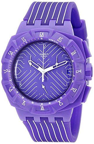 Swatch Chrono Plastica 2 Purple Run SUIV401 - Orologio da donna