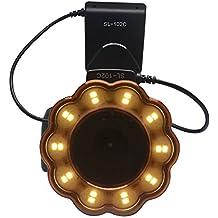 Mcoplus Macro LED anillo de luz de flash Speedlite con 8 anillos adaptadores para Canon Nikon Olympus Pentax DSLR