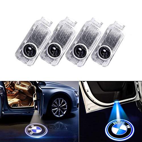 4 PCS Luz de Puerta de Coche 3D Logo Proyector Láser LED Luces Kit